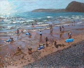 Circles in the Sand, Sidmouth