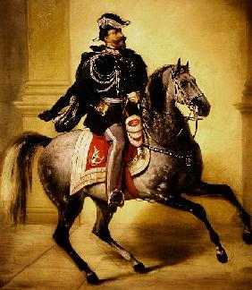 Equestrian Portrait of Victor Emmanuel II of Italy