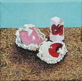 Three Sweets, 2005 (oil on canvas)