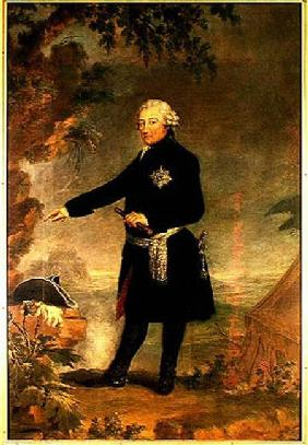 Portrait of Frederick II (1712-86) the Great 1772