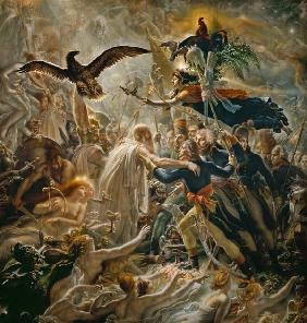 The Apotheosis of the French Heros Who Died for Their Country During the War for Freedom 1800-1802