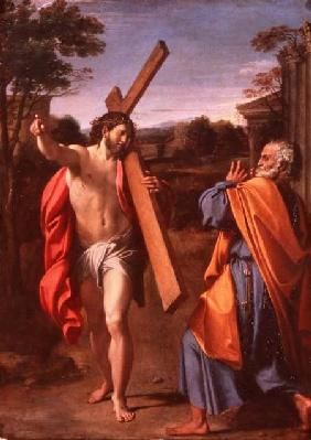 Christ Appearing to St. Peter on the Appian Way 1601-02