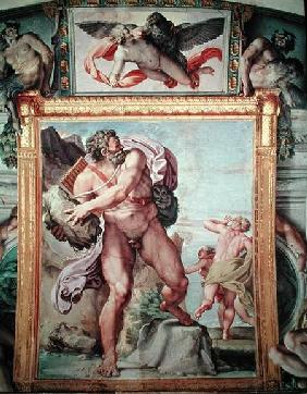 Polyphemus Attacking Acis and Galatea 1597-1604