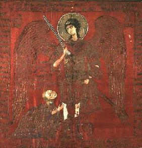 The Archangel Michael with...