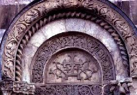 Detail from the south portal built 1327