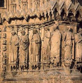 Jamb figures from the facade of the Cathedral c.1230-40