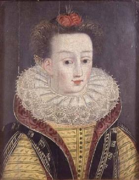 Portrait of a lady with ruff late 16th