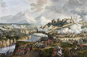 The Battle of Roveredo, 18 Fructidor, Year 4 (September 1796) engraved by Jean Duplessi-Bertaux (174 19th