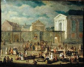 The Fish Market at Cambrai 1778