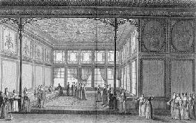 Interior of a drawing room in the Topkapi Palace of the Sultana Hadidge, sister of Selim III 1819