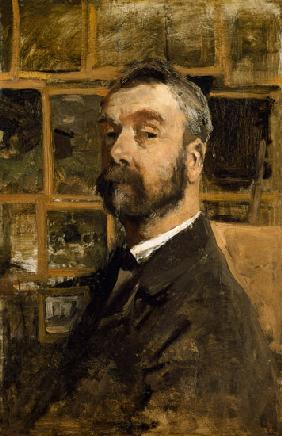 Self portrait c.1884