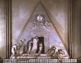 Tomb of the Archduchess Maria Christine Habsburg-Lothringen (1742-98), favourite daughter of Empress