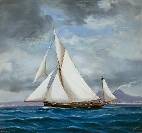 The Yawl ONYX, 52 tons 1889