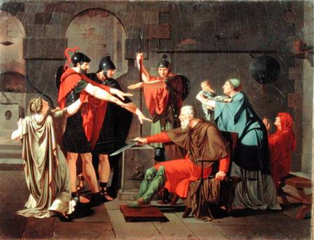 Bild  Armand Charles Caraffe - The Oath of the HoratiiOath Of The Horatii