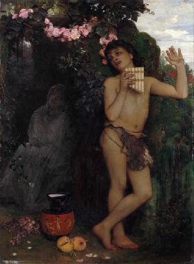 Kunstdruck von Arnold Böcklin - Die Klage des Hirten