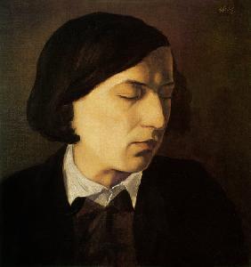 Kunstdruck von Arnold Böcklin - Bildnis Alexander Michelis