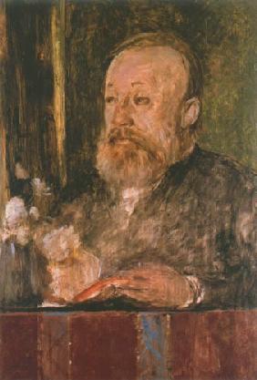 Kunstdruck von Arnold Böcklin - Bildnis Gottfried Keller