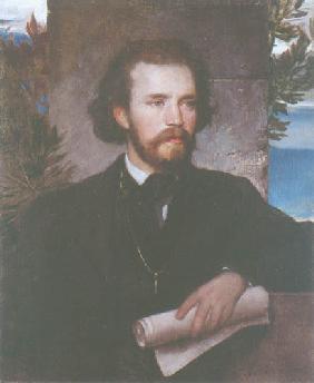 Kunstdruck von Arnold Böcklin - Bildnis des Kammersängers