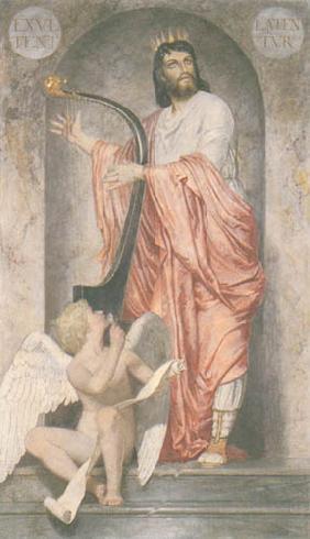 Kunstdruck von Arnold Böcklin - König David