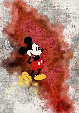 Mickey Mouse red FIN