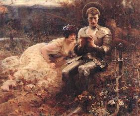 The Temptation of Sir Percival 1894