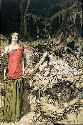 The Wooing of Grimhilde, the mother of Hagen from ''Siegfried and The Twilight of the Gods'' Richard