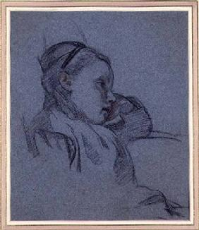 Portrait of a Seated Girl c.1870  an