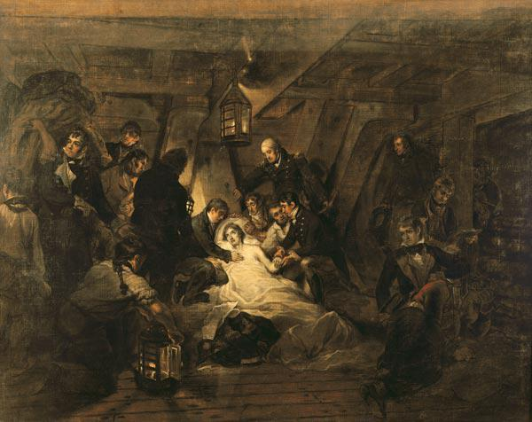 The Death of Nelson, 21st October 1805
