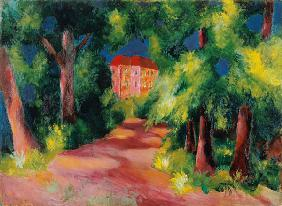 Rotes Haus am Park 1914