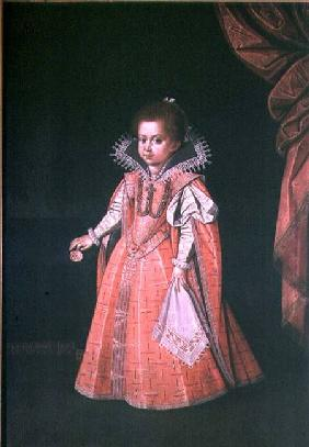 Archduchess Maria Anna (1610-65) as a child