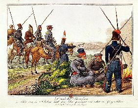 Don Cossacks in 1814