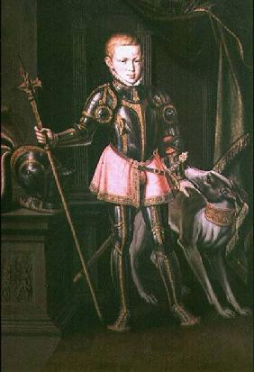 Ferdinand Maximilian Joseph I as a boy