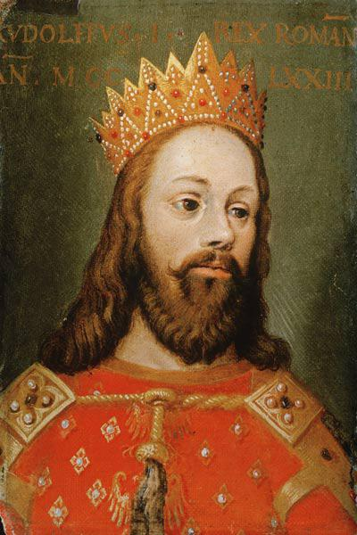 Rudolf I (1218-91) uncrowned Holy Roman Emperor, founder of the Hapsburg dynasty founder of