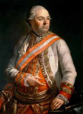 Count Andreas Hadik von Futak (1710-90) Commander of the Austrian Army in the campaign against Turke