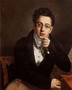 Portrait of Franz Schubert (1797-1828), Austrian composer, aged 17 c.1814