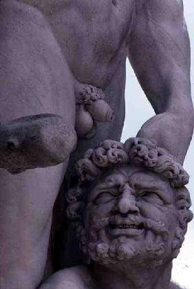 Detail from the Statue of Hercules and Cacus 1534
