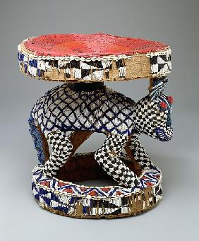Throne, African