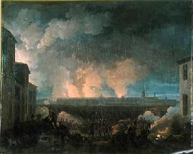The Bombardment of Vienna by the French Army 11th May 1