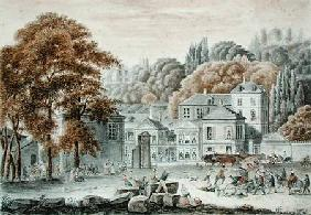 The New Place du Pont, Sevres in 1822  &