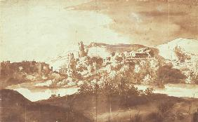 Italian Village on a River 1627