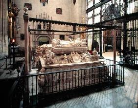 Tomb of Philip the Handsome (1478-1506) and Joanna the Mad (1479-1555) and Joanna