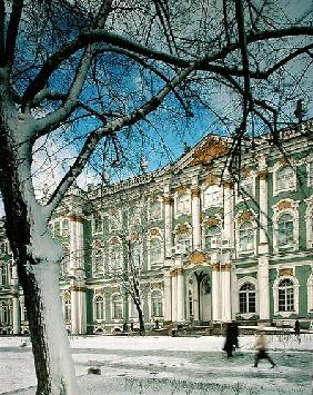 View of the South Facade of the Winter Palace, from Palace Square 1754-62