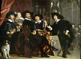 The Officials of the Company of Bowyers of St. Sebastian at Amsterdam 1653
