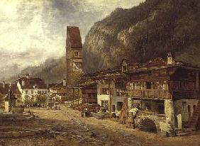 Unterseen, Interlaken: Autumn in Switzerland 1878
