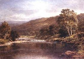 Welsh River Scene