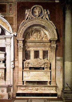Tomb of Leonardo Bruni (1369-144)