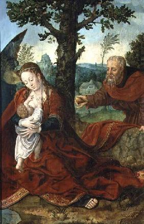 The Rest on the Flight into Egypt (panel)
