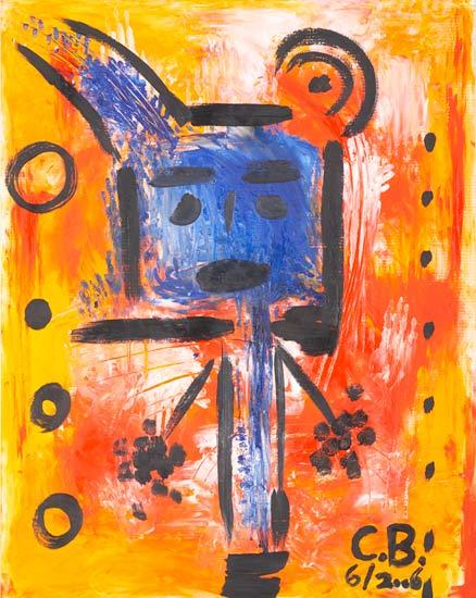 No Title 5 - C.S. Bernays als Kunstdruck oder handgemaltes Gemälde.