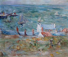 The Port of Gorey on Jersey 1886