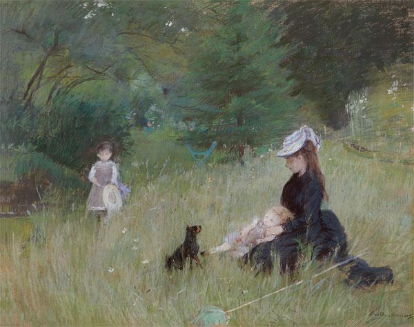 In a Park c.1874 ste